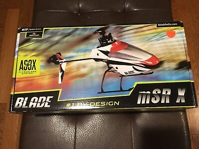 Blade mSRX AS3X Helicopter BNF NEW IN PACKAGE