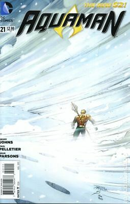 Aquaman (5th Series) #21A 2013 VF Stock Image