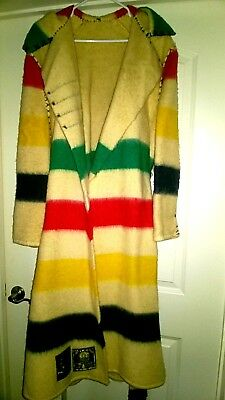 Northwest Traders Early's Witney Point Wool Blanket Coat, Robe England M/L W/XXL