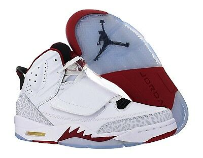 new product 12aef ad36f Nike Jordan SON OF MARS FIRE White Red Basketball Shoes Kicks Mens 512245  112