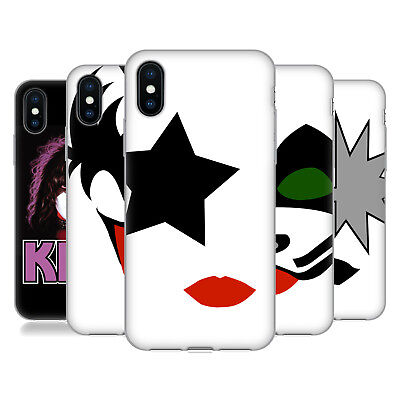 OFFICIAL KISS BAND SOLO SOFT GEL CASE FOR APPLE iPHONE PHONES