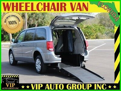 2015 Dodge Grand Caravan American Value Package Mini Passenger Van 4-Door 2015 Dodge Gr. Caravan Handicap Wheelchair Van Braun Mobility Ramp