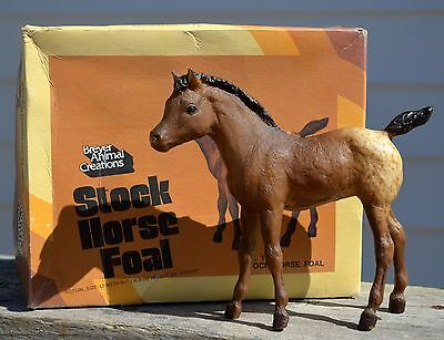 Breyer# 17 Stock Horse Foal with Old Style Picture Box - Excellent Cond. VINTAGE