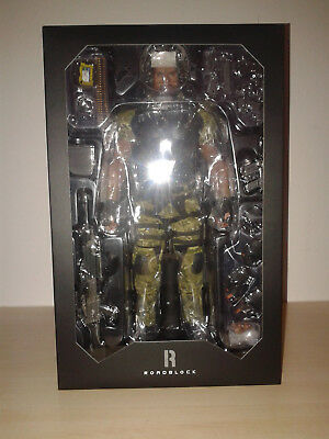 Hot Toys MMS199 G.I. Joe Retaliation Roadblock Dwayne Johnson NEW