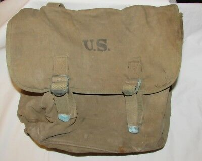 Original World War 2 US Army Musette Bag by Atlantic Products Corp. Dated 1941