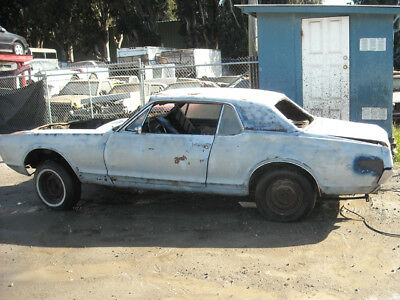 1967 Mercury Cougar  1967 Big Block 390 Mercury Cougar original Maroon Metallic project -Look ! !