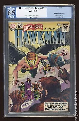Brave and the Bold (1st Series DC) #35 1961 PGX 6.5