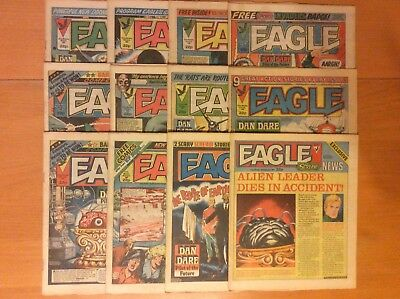 Eagle Comics 1984 -- 12 issues