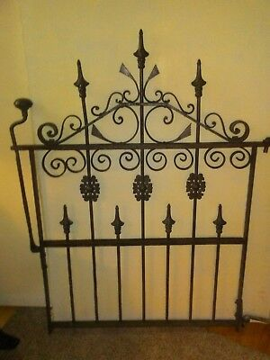 1800s-early 1900s! Cast Iron Victorian Style Ornamental Gate..Beautifully made