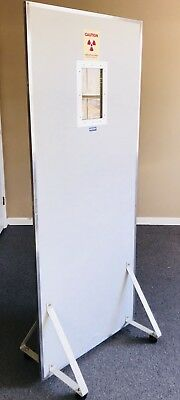 Star Large X-Ray Portable Lead Shield Wall Barrier with Lead Glass window