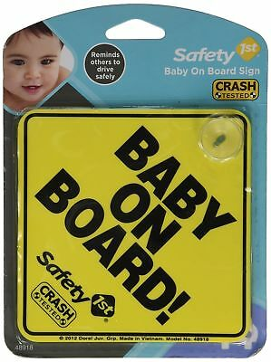 "Safety 1st ""Baby On Board"" Sign, 2 Count"