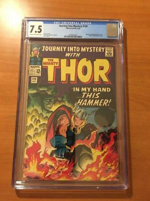 Journey Into Mystery #120 CGC 7.5 Early Thor Kirby !