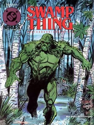 DC Heroes Role-Playing Game Swamp Thing Sourcebook/Adventure SC #256 1990 FN