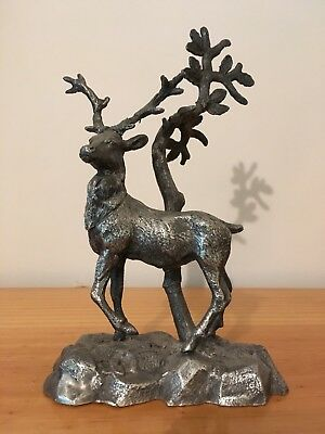 Old Philip Ashberry & Sons, Sheffield, Brittania Metal STAG Figurine!