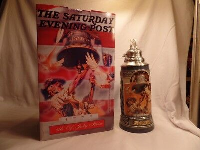 "Saturday Evening Post Stein ""4th. Of July Limited Edition"