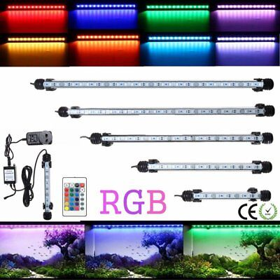 18-106CM Aquarium Fish Tank LED SMD RGB Light Bar Lamp Lighting Submersible P(N)