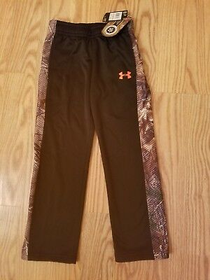 NWT UNDER ARMOUR Real Tree Boys Camo Athletic Pants Straight Leg SELECT SIZE