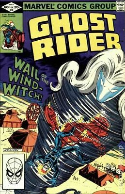 Ghost Rider (1st Series) #66 1982 FN Stock Image