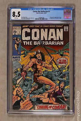 Conan the Barbarian (Marvel) #1 1970 CGC 8.5 1448967008