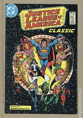 Justice League of America (1st Series) So Much Fun! Reprint #217 1987 FN 6.0