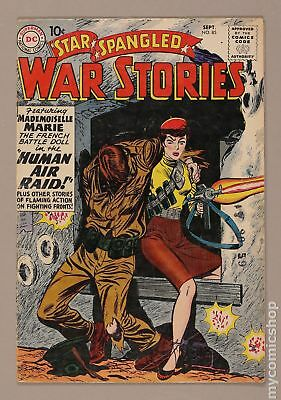 Star Spangled War Stories (DC) #3 to 204 #85 1959 VG 4.0