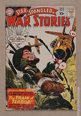 Star Spangled War Stories (DC) #3 to 204 #91 1960 GD 2.0