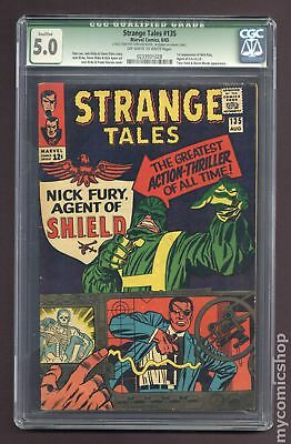 Strange Tales (1st Series) #135 1965 CGC 5.0 QUALIFIED 0233931028
