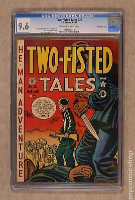 Two Fisted Tales (EC) #20 1951 CGC 9.6 Gaines File Copy 0046098013