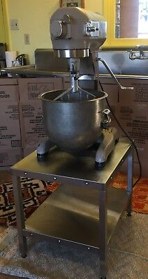 Hobart A-200 20 QT Mixer/Stand with Bowl and Attachments