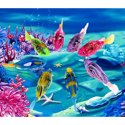 Fashion Robotic Fish Swimming Robofish Activated Battery Powered Robiotic Toy
