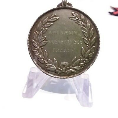 Lovely Ww1 Aif Medallion 'rifle Course Competition Lt. Brewster 8Th Bn Aif