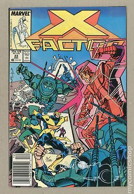 X-Factor (1st Series) #23DFSIGNED 1987 FN/VF 7.0