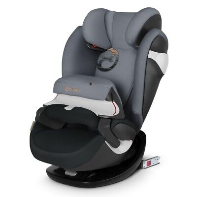 Car seat group 1/2/3 Kg. 9-36 Pallas M-Fix Pepper Black Dark Grey Cybex