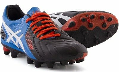 Mens asics Lethal Stats 3 SK Screw In Studs Rugby Boots Shoes Size UK 10 Eur 45