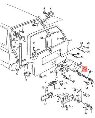 Genuine Micro Switch Vw Beetle Cabrio 1y7 1y0959985a