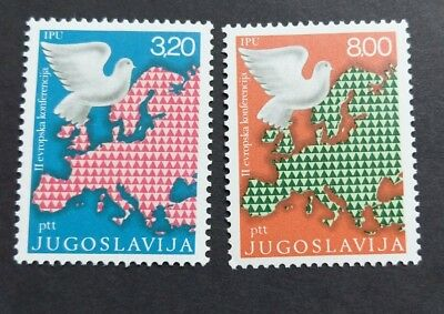 Yugoslavia 1975 European Security and Co Operation Conference set MUH c18