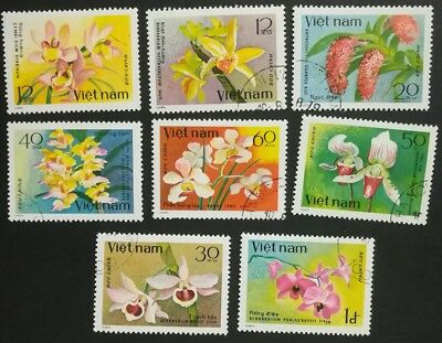 Vietnam 1979 Orchids  set used A33