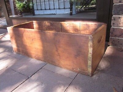 Vintage/antique wooden box, pick up only, Dural, NW sydney