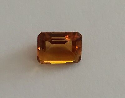 Citrine honey Colour Octagon Gemstone 8 X 6.25 nm