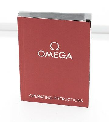 Genuine Omega Operating Instructions Watch Manual 1/20