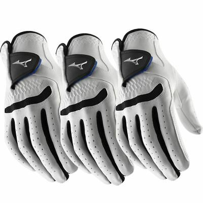 **Pack of 3** Mizuno 2018 All Weather Comp Mens Golf Gloves Right Hand
