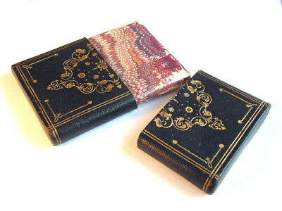 Victorian Tooled Leather & Gilt Visiting Card Case c.1890