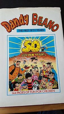 Dandy & Beano - The First 50 Years - 50 Golden Years - Vintage Dandy&beano Book
