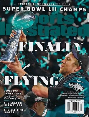 Sports Illustrated Magazine Commemorative 2017/18 Champions PHILADELPHIA EAGLES