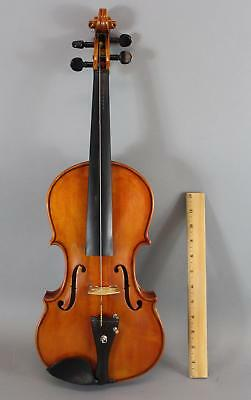 RARE Rev Angelo Lapolla, American 4/4 Figured Maple Violin & Otto Paulus Bow