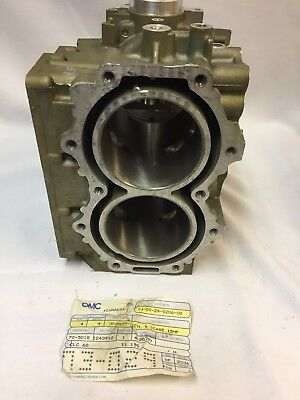 Evinrude Johnson 15hp 2 stroke brand new cylinder OEM part #0388803