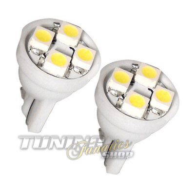2x T10 1210 4x SMD LED W5W Innenraumbeleuchtung + Leselampe für Audi