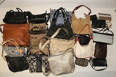 Coach Collection Wholesale Purse Lot USED Bulk Rehab Resale aPzZ