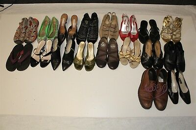 Lot Wholesale Used Shoes Rehab Resale Michael Kors Bally Ecco Weitzman dStJ