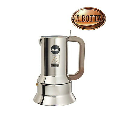 Cafetière Espresso ALESSI 9090/3 in Stainless Steel 3 Cups Espresso Coffee Maker
